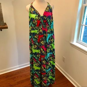 Lane Bryant Sleeveless Maxi Dress Sz 26/28